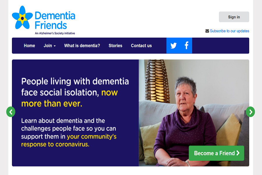 Spread the word about becoming a 'Dementia Friend'