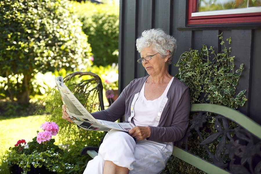 Create a relaxation zone in your garden