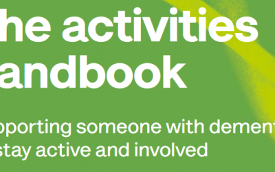 Download the Alzheimer's Society activities handbook